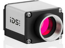 GigE IDS Imaging UI-5130SE camera model with lightweight compact housing