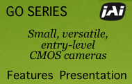 A presentation on the features of the JAI Go cameras
