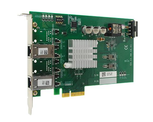 Dual GigE POE PCIe x4 NIC card - Neousys NEO-PCIE-POE352AT