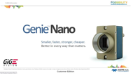 Genie Nano presentation - Introducing TurboDrive Break Through the GigE Limit
