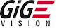 GigE Vision logo signifies this camera is built with GigE Vision firmware