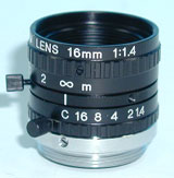 photo of the 1stVision LE-MV-1614L-LM lens