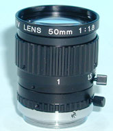 photo of the 1stVision LE-MV-5018L-LM lens