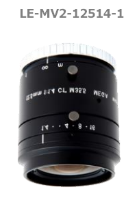 photo of the 1stVision LE-MV2-12514-1 lens