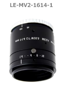 photo of the 1stVision LE-MV2-1614-1 lens