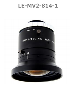 photo of the 1stVision LE-MV2-814-1 lens