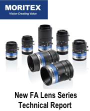 MORITEX Large format line scan lenses - techinical report