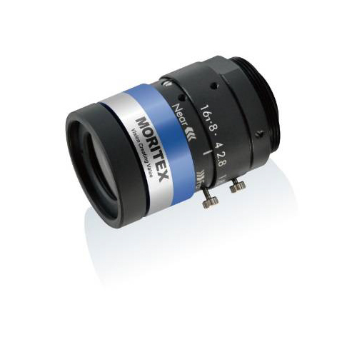 photo of the Moritex ML-M0625UR lens