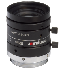 photo of the CBC M1620-MPW2 lens