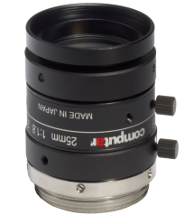 photo of the CBC M2518-MPW2 lens
