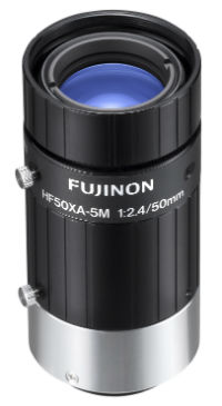 photo of the Fujinon HF50XA-5M lens