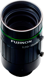 photo of the Fujinon HF3520-12M lens