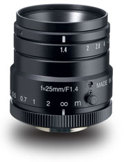 photo of the Kowa LM25HC lens