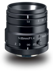 photo of the Kowa LM35HC lens