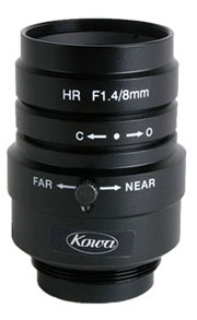 photo of the Kowa LM8JCM lens