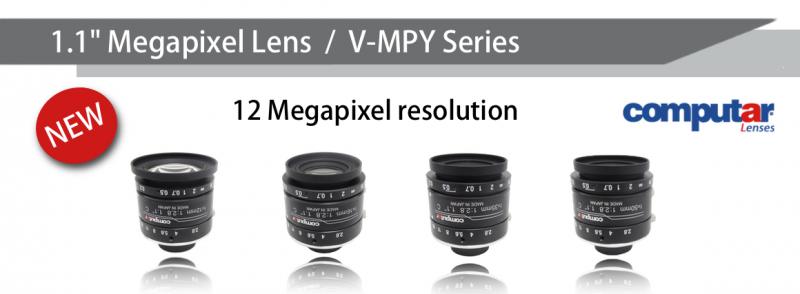 """1.1"""" Megapixel lenses - Computar MPY Series"""
