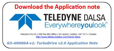 Teledyne Dalsa Turbodrive application note