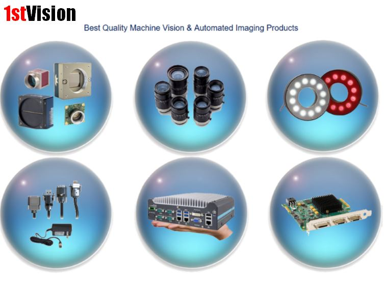 1stvision industrial imaging components