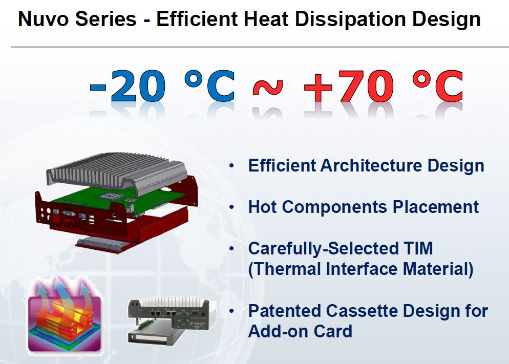 Neousys heat efficient design