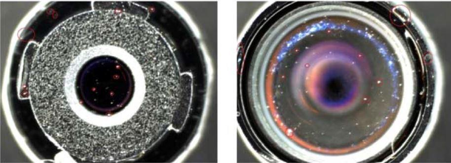 Optotune liquid lens stack image